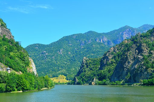 Landscape, Nature, River, Romania, Mountain