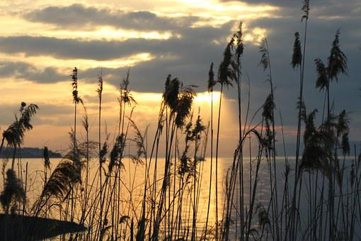 Burhaniye, Day, Sunset