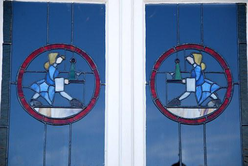 Art Nouveau, Window, Swakopmund, Old