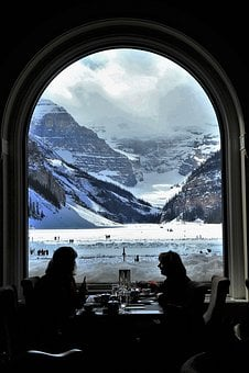 Banff, Window, National, Canada, Destination, Travel