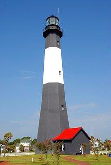 Tybee Island Lighthouse, Georgia, Usa, Lighthouse