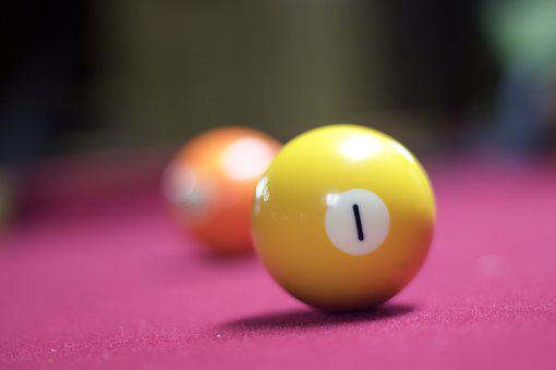 Pool, Ball, Bill, Colorful, Number, Table, Billiard