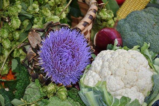 Cauliflower, Red Cabbage, Savoy, Potato, Vegetables