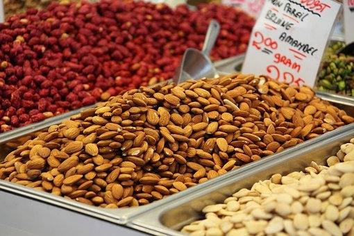 Almond, Brown, Close-up, Dry, Food, Fresh, Healthy