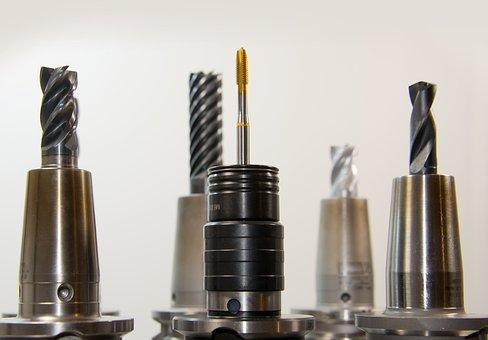 Taps, Thread, Drill, Milling, Milling Machine, Drilling