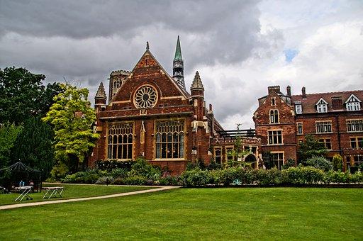 Hammerton College, Cambridge, Uk, Old, Traditional