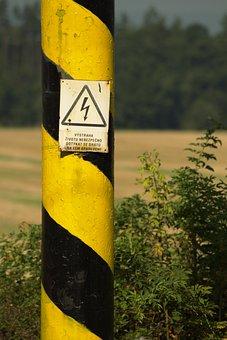 Current, Warning, Danger Of Death, High Voltage