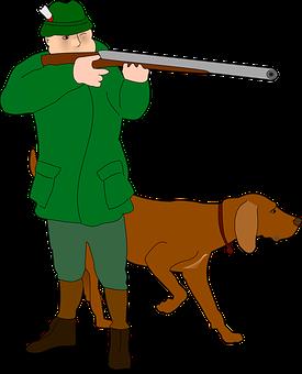 Hunter, Rifleman, Fighter, Huntsman, Dog, Hunt, Hunting