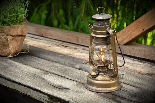 Kerosene Lamp, Light, Lamp, Burner, Lantern, Lighting