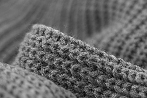 Weaving, Grey, Kazakh, Cardigan Sweater, Line, Textile
