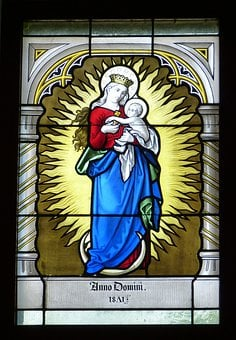 Madonna, Fig, Woman, Grace, Mother Of God, Maria