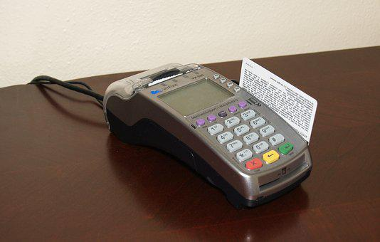 Credit Card Machine, Card, Sale, Business, Money