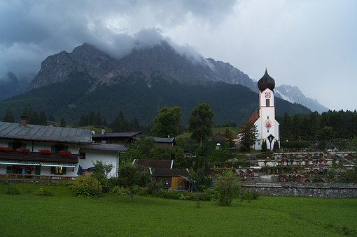 Grainau, Hammer Bach, Mountains, Landscape, Nature
