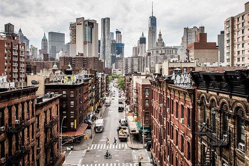 Usa, Manhattan, New York, New York City, Chinatown