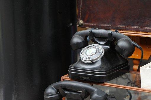 Phone, Antique, Communication, Nostalgia, Old
