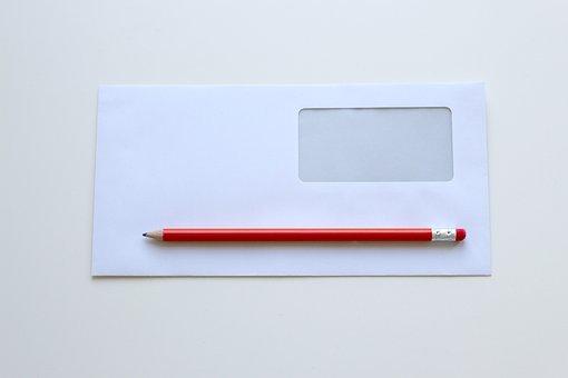 Envelope, Pencil, Office, Office Desk, Pencils, Desk