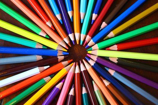 Shape, Color Of Lead, Pencil, Painting, Kits, Pen