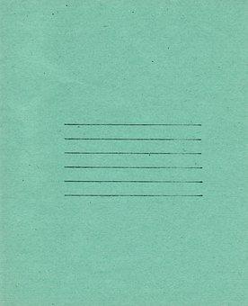 Green, Paper, Texture, Lines