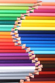 Color, Color Of Lead, Pencil, Painting, Kits, Pen