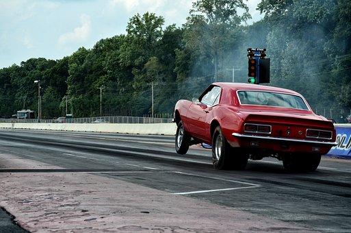Car, Drag, Power, Speed, Transportation, Vehicle, Race
