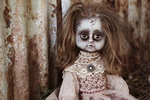 Doll, Creepy, Spooky, Horror