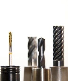 Thread Cutter, Taps, Drill, Milling, Milling Machine