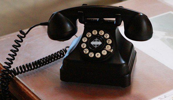 Telephone, Vintage, Push Button, Old Telephone