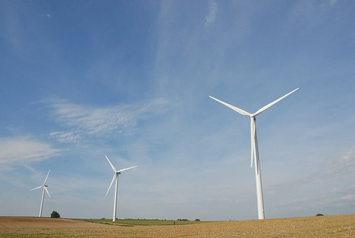 Wind Turbine, Energy, Propeller, Mill, Wind, Landscape