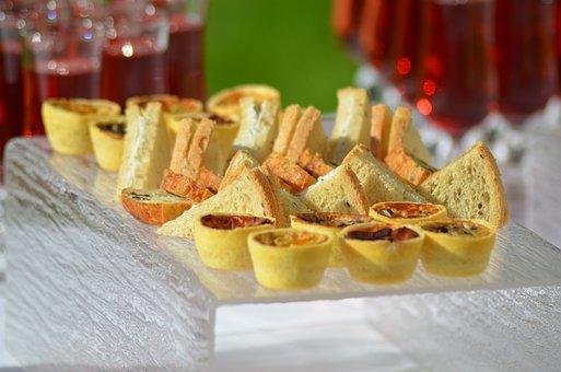 Cake Salé, Petit Fours, Aperitif, Tasting, Friendliness