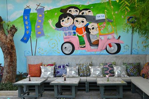 Mural, Wall, Art, Building, Painting, Architecture