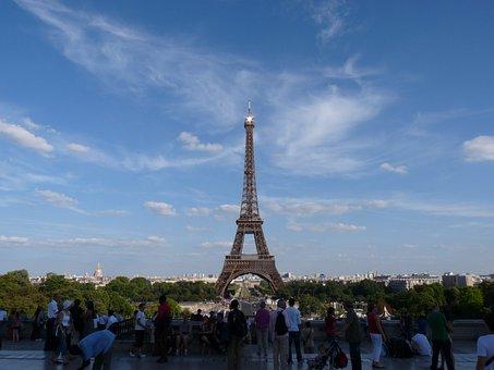 Paris, Eiffel Tower, France, Attraction, Landmark