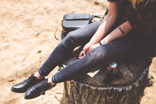 Girl, Hipster, Fashion, Blog, Blogger, Website, Mockup