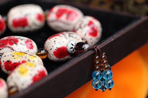China, Jewellery, Traditionally, Tradition, Blue, Art