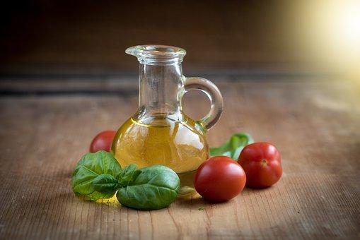 Oil, Olive Oil, Bottles, Food, Eat, Glass Bottles