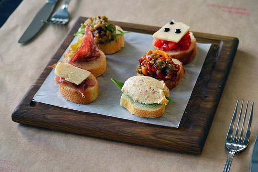 Bruschetta, Italian, Cuisine, Appetizer, Starter