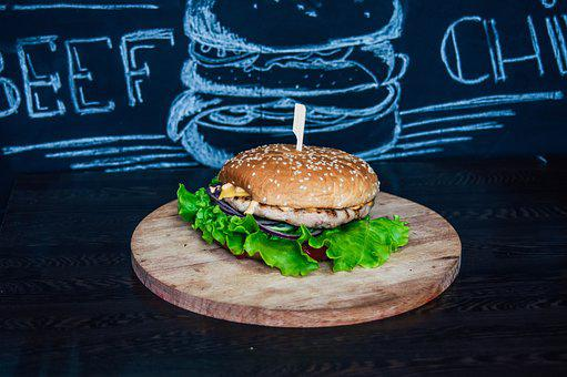 Food, Burgers, Tomato, Cheese, Kitchen, Nutrition