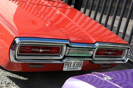 Car, Custom Car, Vintage, Style, Nostalgia, 1950s Style