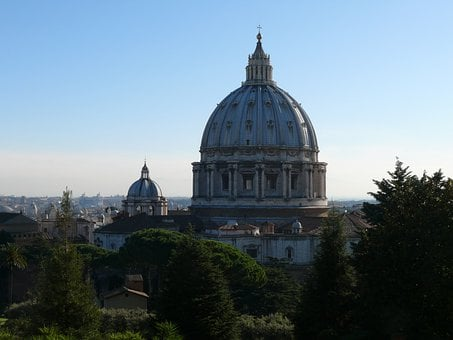 The Vatican, Cathedral Of St Peter, The Vatican Gardens