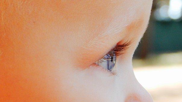 Eyes, Child, Vista, Look, Look Away