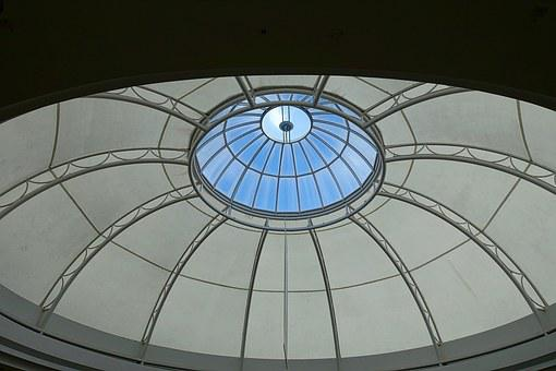 Dome, Skylight, Circular, Light, Roof, Structure