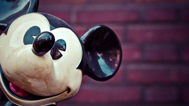 Micky Mouse, Walt Disney, Disney, Figure, Comic