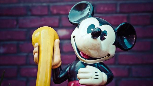 Micky Mouse, Walt Disney, Disney, Fig, Comic