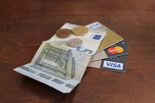 Credit Card, Money, Payment, Coins, Credit, Plastic