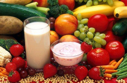 Healthy Food, Fruit, Vegetables, Dairy, Food, Dietetic