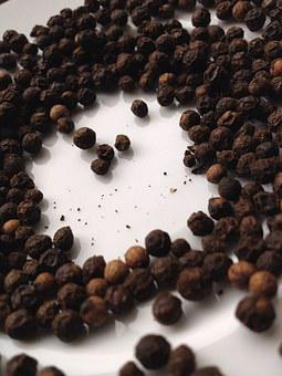 Black Pepper, Pepper, Kitchen, Eating, Food, Dinner