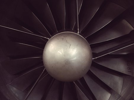 Engine, Plane, Propeller, Jet Engine, Blades