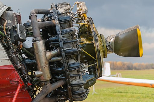 Engine, Motor, Plane, Screw, Propeller, Aviation