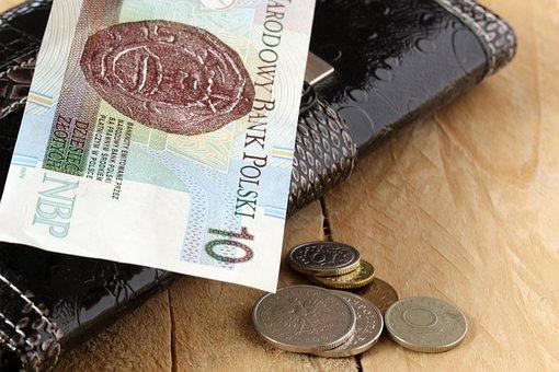 Buck, Money, Euro Banknotes, Coins, Dime, Safe, Wallet