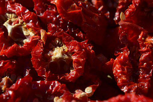 Tomatoes, Dried Tomatoes, Food, Fruit, Kitchen, Dried