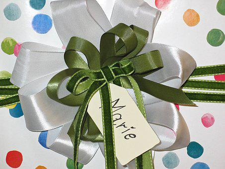 Made, For You, Loop, Give Away, Gift, Birthday, Packed